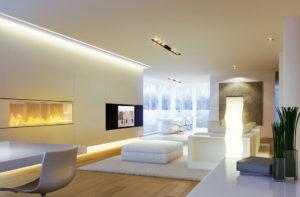 nowoczesne oświetlenie sufitowe